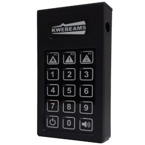 Kwebeam – Mobile Control Unit (Keypad)