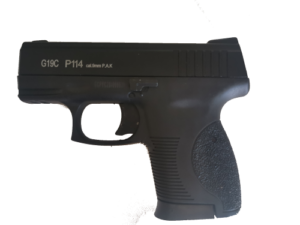 9mm Compact self defence Gun – includes 6 x blank rounds