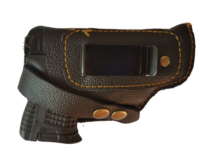 holster for compact 9mm self defence gun
