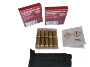 9mm Pepper Rounds – Riot control